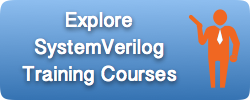 SystemVerilog Training Courses
