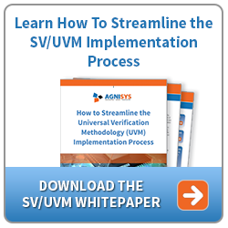 streamline System Verilog - UVM Verification process