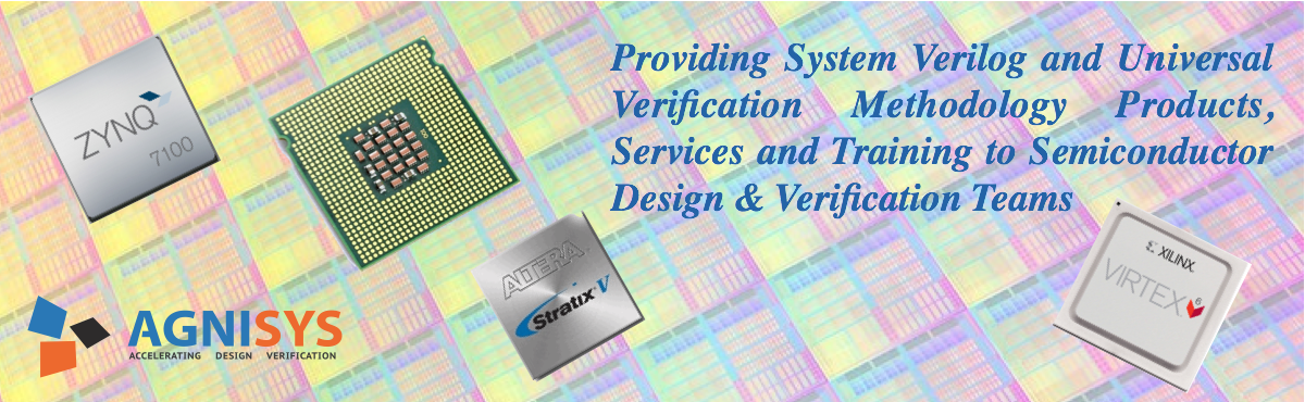System Verilog and UVM Products Services training