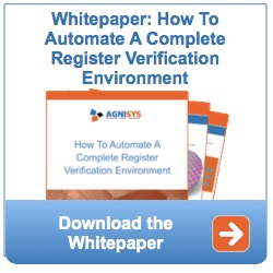 how to automate a complete register verification environment