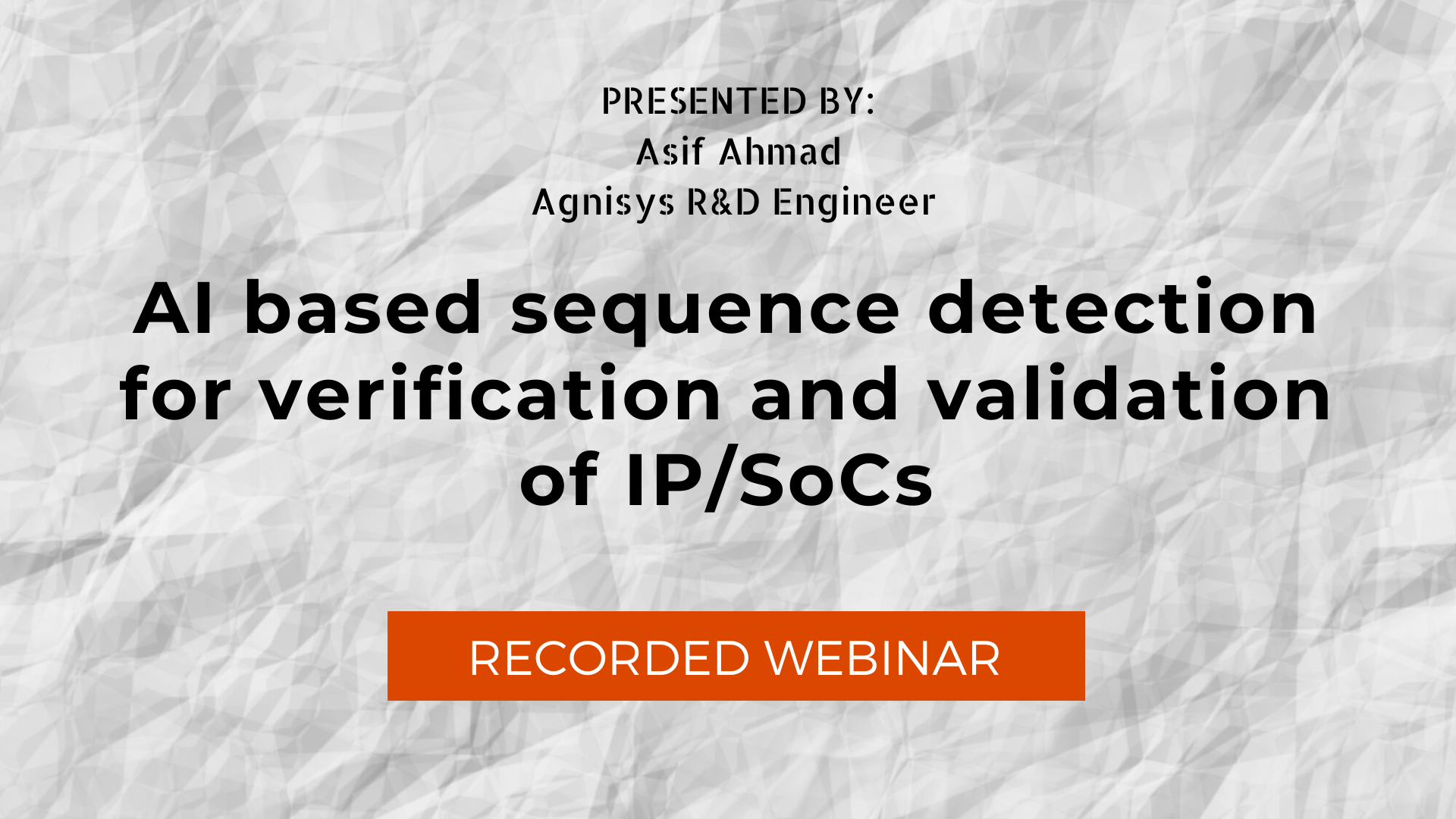 AI based sequence detection for verification and validation of IP/SoCs